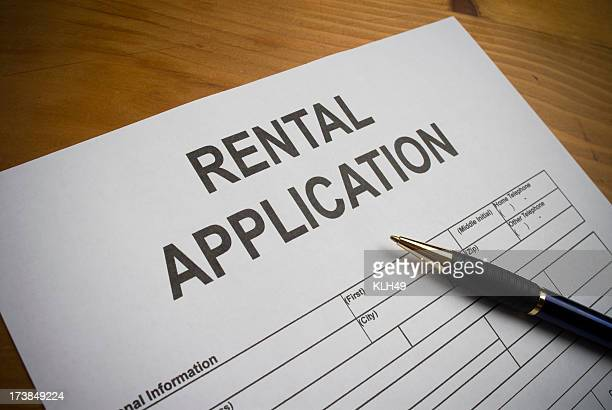 rental application. - application form stock pictures, royalty-free photos & images