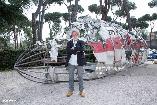 Renzo Martinelli attends the press launch for the film quotUsticaquot in Rome Italy on March 24 2016
