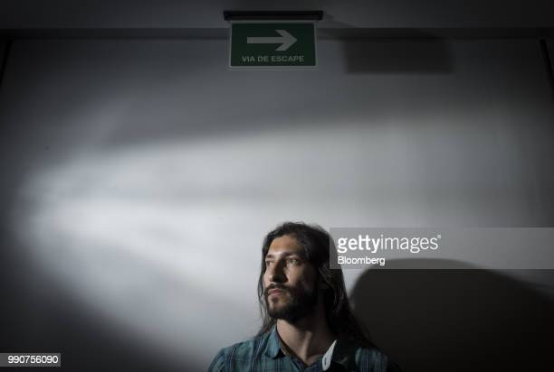 Renzo Prieto former political prisoner sits for a photograph after an interview in Caracas Venezuela on Friday June 22 2018 Held more than four years...