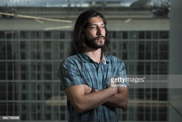 Renzo Prieto former political prisoner stands for a photograph after an interview in Caracas Venezuela on Friday June 22 2018 Held more than four...