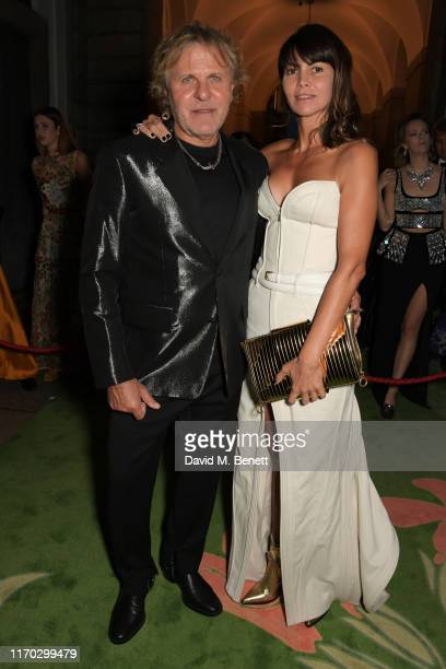 Renzo Rosso and Arianna Alessi attend The Green Carpet Fashion Awards Italia 2019 hosted by CNMI EcoAge at Teatro Alla Scala on September 22 2019 in...