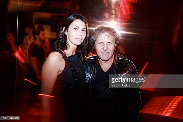 Renzo Rosso Arianna Alessi attend the Diesel Party for the Launch of New Fragance For Men on June 23 2016 in Paris France