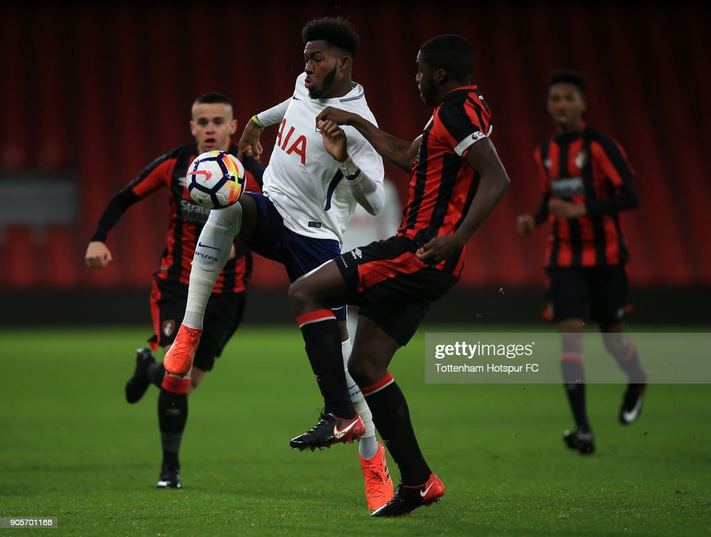 Bournemouth U18 v Tottenham Hotspur U18: FA Youth Cup