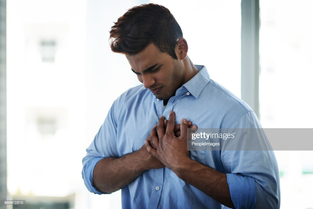 Reoccurring pain should be treated immediately : Stock Photo