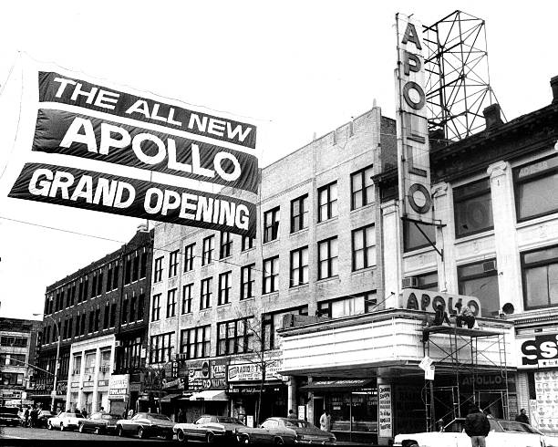 Reopening Apollo Theatre At 252 West 125th Street, Harlem Wall Art