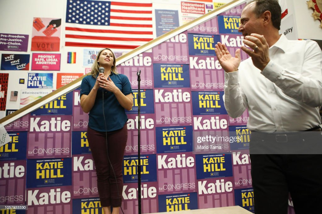 Democratic Candidates Push to Flip House Seats From Republicans In California : News Photo