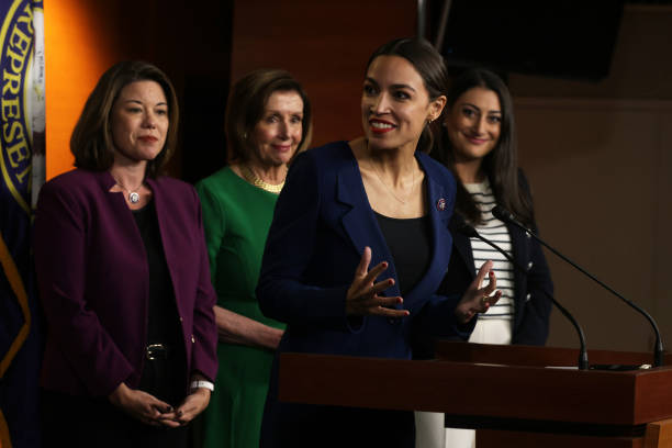 DC: Pelosi Introduces Select Committee On Economic Disparity And Fairness Of Growth