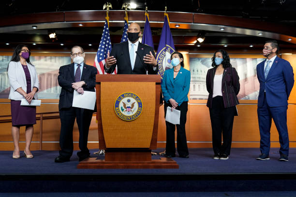 DC: House Democrats Speak To Press Ahead Of NO BAN Act Passage