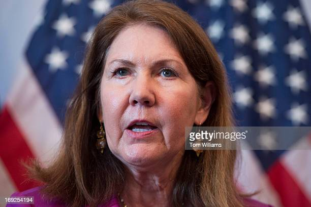 Rep Ann Kirkpatrick DAriz speaks at a news conference in Cannon Building to announce a legislative package that will help the Veterans Affairs...