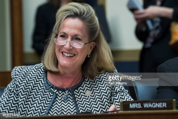 Rep Ann Wagner RMo attends a House Financial Services Committee hearing in Rayburn Building titled 'Financial Industry Regulation the Office of the...