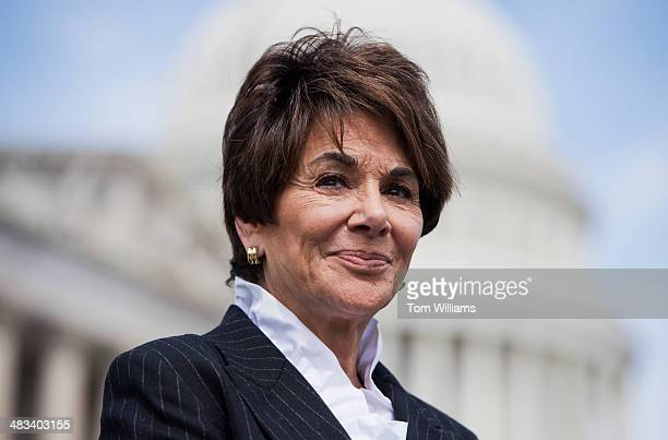 Rep Anna Eshoo DCalif attends a news conference at the House Triangle on the dangers faced by Christians and Armenians in the Syrian revolution...