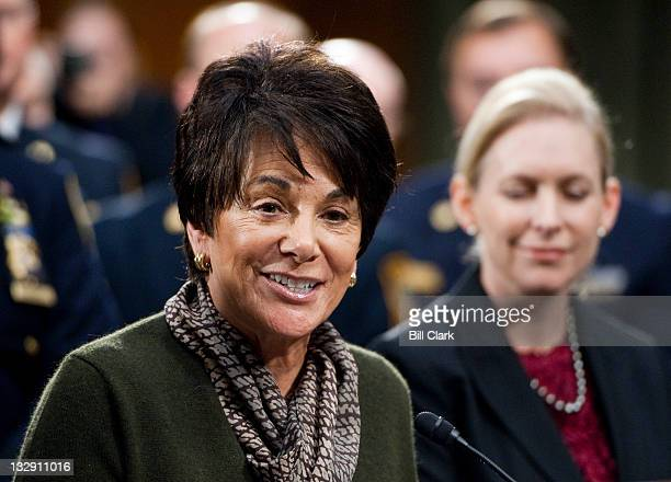 Rep Anna Eshoo DCalif participates in a bipartisan and bicameral news conference to call for the Joint Select Committee on Deficit Reduction to...