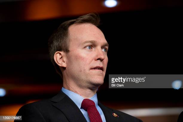 Rep Ben McAdams DUtah participates in the Problem Solvers Caucus press conference in the Capitol on Tuesday Feb 11 2020
