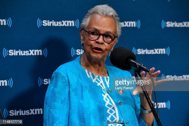 Rep Bonnie Watson appears in a discussion on the work of the Congressional Black Caucus at SiriusXM Studio on May 14 2019 in Washington DC