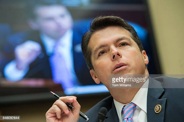Rep Brendan Boyle DPa questions FBI Director James Comey during a House Oversight and Government Reform Committee hearing in Rayburn Building on the...
