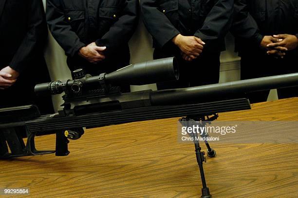 Rep Carolyn McCarthy DNY Rep James Moran DVa and Rep Patrick Kennedy DRI held a news conference to reintroduce legislation 'The50 Caliber Sniper...