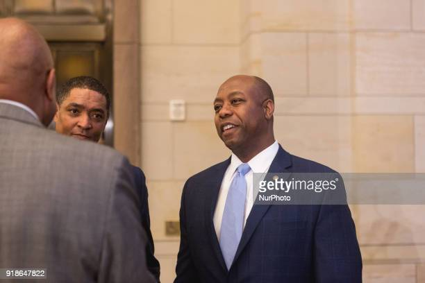 Rep Cedric Richmond chairman of the Black Congressional Caucus and Senator Tim Scott are featured speakers at the Commemoration of the Bicentennial...