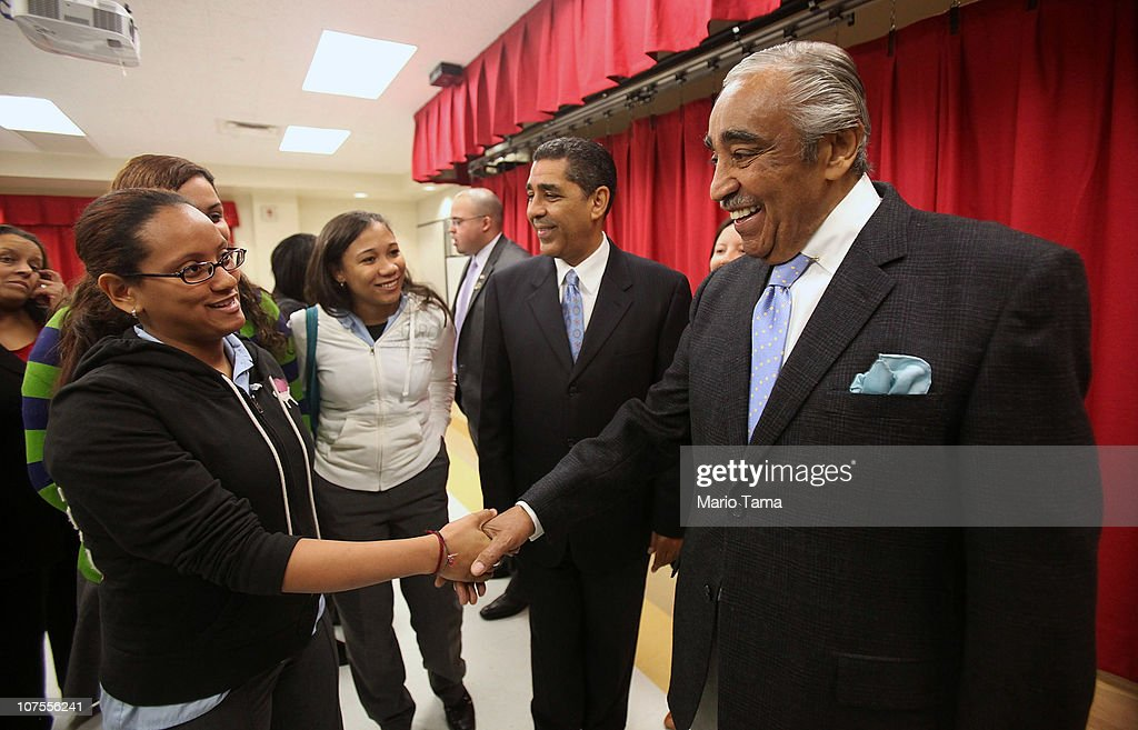 Rangel, NY State Officials Call For Passage Of DREAM Act