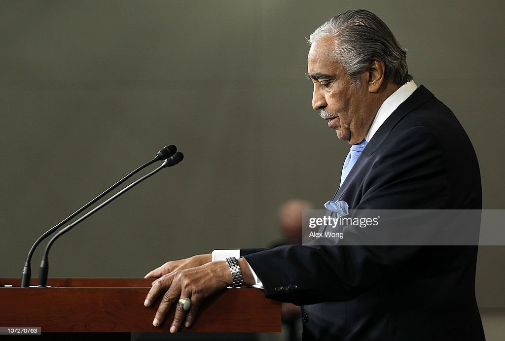 House Votes To Censure Rep. Charlie Rangel