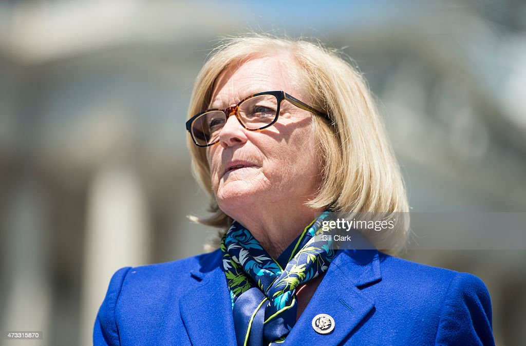 Rep Chellie Pingree D Maine Participates In A News