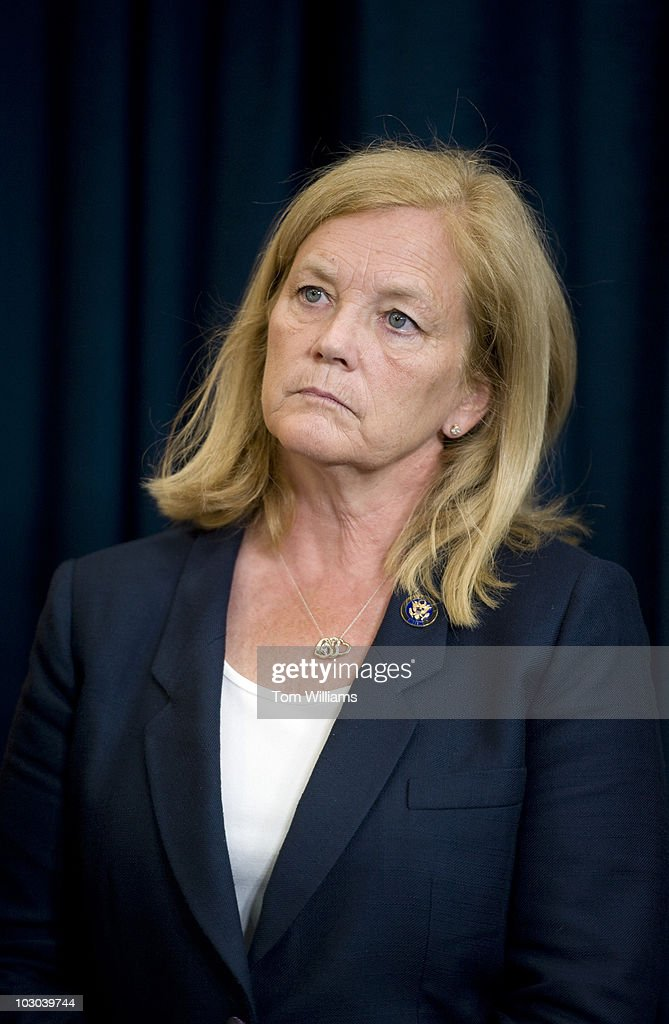 Rep Chellie Pingree D Me Attends At A News Conference To