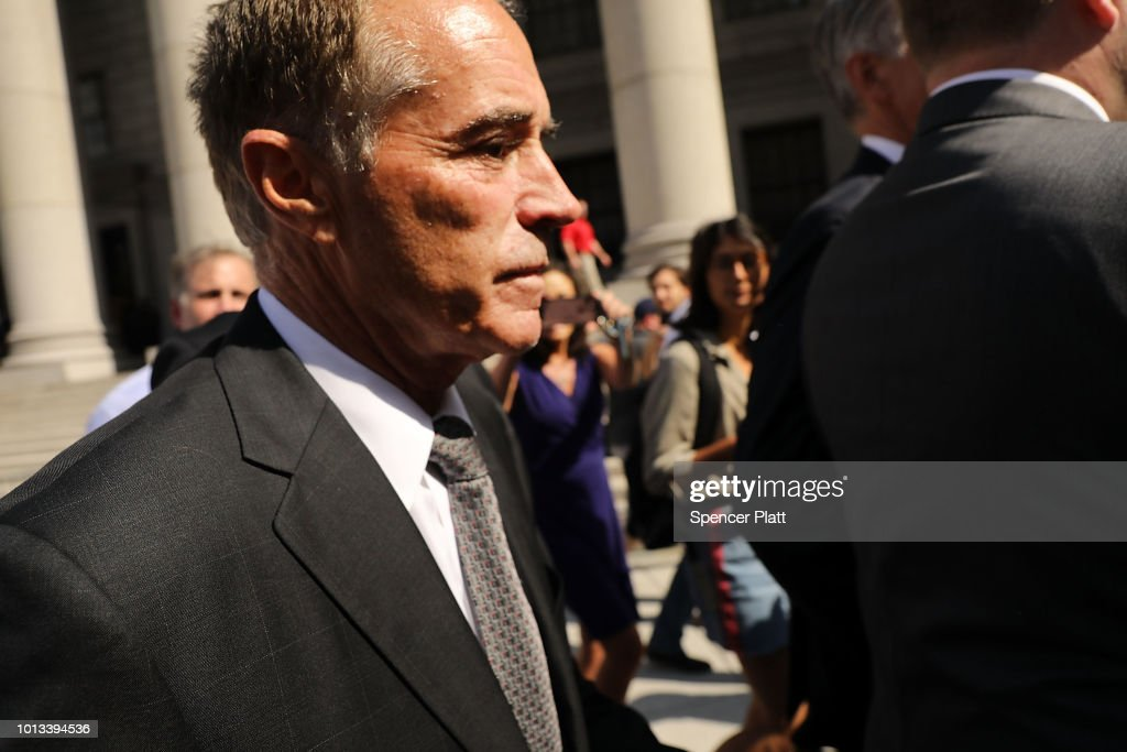Rep. Chris Collins (R-NY) Arrested On Insider Trading Charges : News Photo