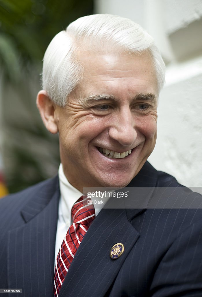 Rep. Dave Reichert, R-Wash., speaks to reporters following the House Republicans meeting in the Capitol on Tuesday, Oct. 27, 2009.