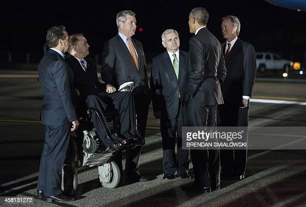 Rep David Cicilline Rep Jim Langevin Senator Sheldon Whitehouse Senator Jack Reed US President Barack Obama and Rhode Island Governor Lincoln Chafee...
