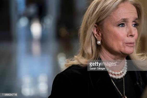 Rep. Debbie Dingell speaks with MSNBC to discuss U.S. President Donald Trump's comments about her late husband, former Rep. John Dingell , at the...
