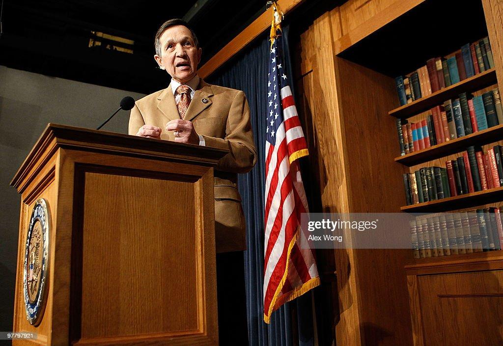 Rep. Dennis Kucinich  Announces His Vote On Health Care
