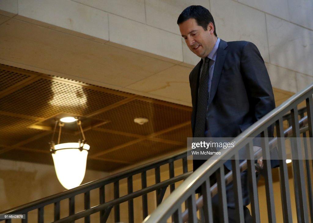 House Intelligence Cmte Debates Release Of Democratic Rebuttal To Nunes Memo