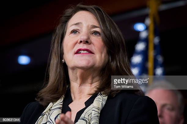 Rep Diana DeGette DColo attends a news conference in the Capitol Visitor Center to oppose efforts to defund women's health care January 6 2016