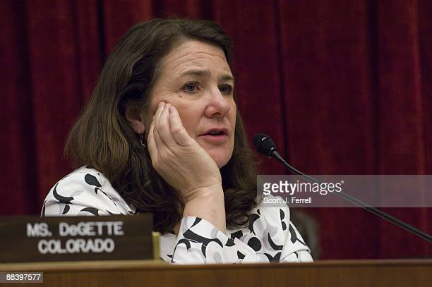 Rep Diana DeGette DColo during the House Energy and Commerce Subcommittee on Health markup of a bill to amend the Federal Food Drug and Cosmetic Act...