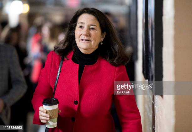 Rep Diana DeGette DColo leaves the House Democrats' caucus meeting in the Capitol on Wednesday March 6 2019