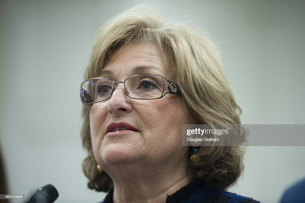 Rep. Diane Black, R-Tenn. during a news conference to introduce the 'Religious Freedom Bill,' which would 'stop the Obama administration's assault on pro-life religious freedom via the HHS (Health and Human Services) mandate' and exempt 'medical professionals who refuse to be involved with the performance of abortions.'