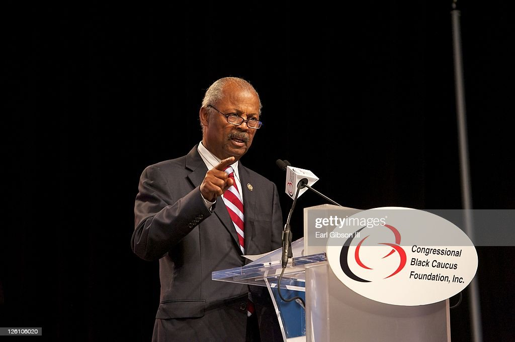 Rep. Donald M. Payne speaks at the opening ceremonies for the Town Hall Meeting on Economic Opportunity at the Congressional Black Caucus Foundation's 41st Legislative Conference>> at The Walter E. Washington Convention Center on September 22, 2011 in Washington, DC.