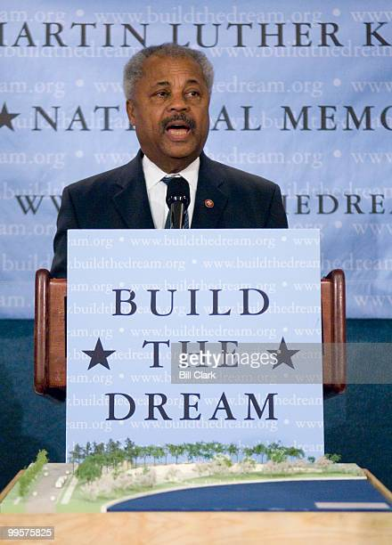 Rep Donald Payne DNJ speaks during the Martin Luther King Jr National Memorial news conference at the National Press Club in Washington on Monday May...
