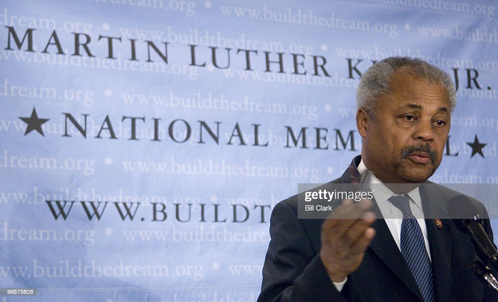 Rep. Donald Payne, D-N.J., speaks during the Martin Luther King, Jr., National Memorial news conference at the National Press Club in Washington on Monday, May 7, 2007. The event was held to announce a One million dollar donation from Prudential Financial.