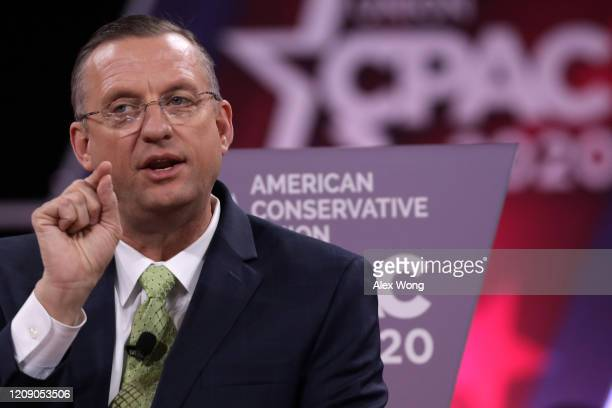 Rep. Doug Collins speaks during the annual Conservative Political Action Conference at Gaylord National Resort & Convention Center February 27, 2020...
