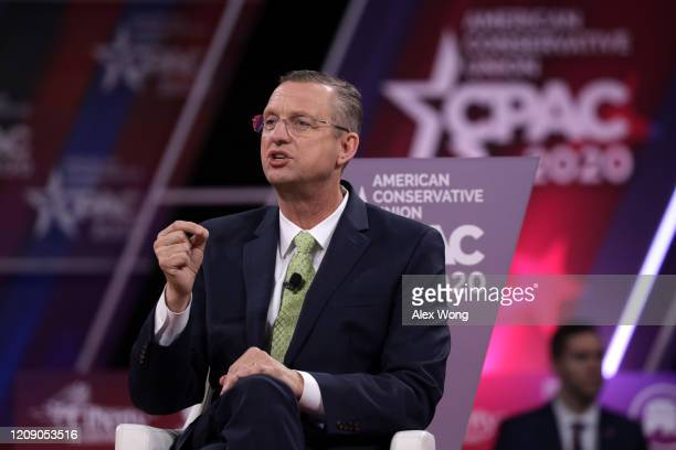 S Rep Doug Collins speaks during the annual Conservative Political Action Conference at Gaylord National Resort Convention Center February 27 2020 in...