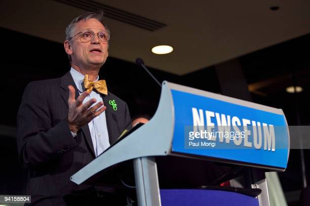 Rep Earl Blumenauer participates in the Cities Bicycles and the Future of Getting Around panel discussion hosted by The Brookings Institution and the...