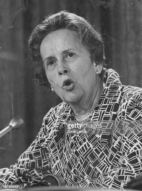 JUL 7 1969 JUL 8 1969 DEC 18 1969 DEC 19 1969 MAR 20 1970 NOV 23 1974 NOV 24 1974 Rep Edith Green of Oregon Predicts Trouble She said public's lost...