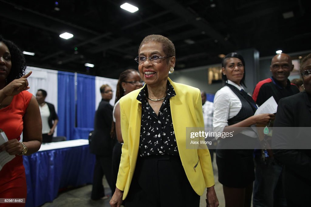 Rep. Eleanor Holmes Norton  Hosts Hosts Annual Job Fair In The Washington Convention Center