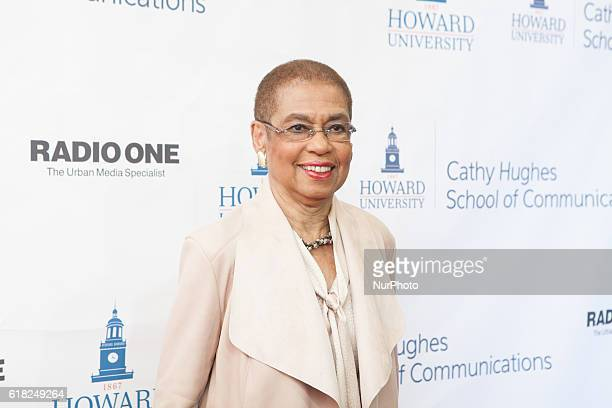 Rep Eleanor Holmes Norton In the Blackburn Center Ballroom on the campus of Howard University in Washington DC USA on 25 October 2016 Ms Cathy Hughes...