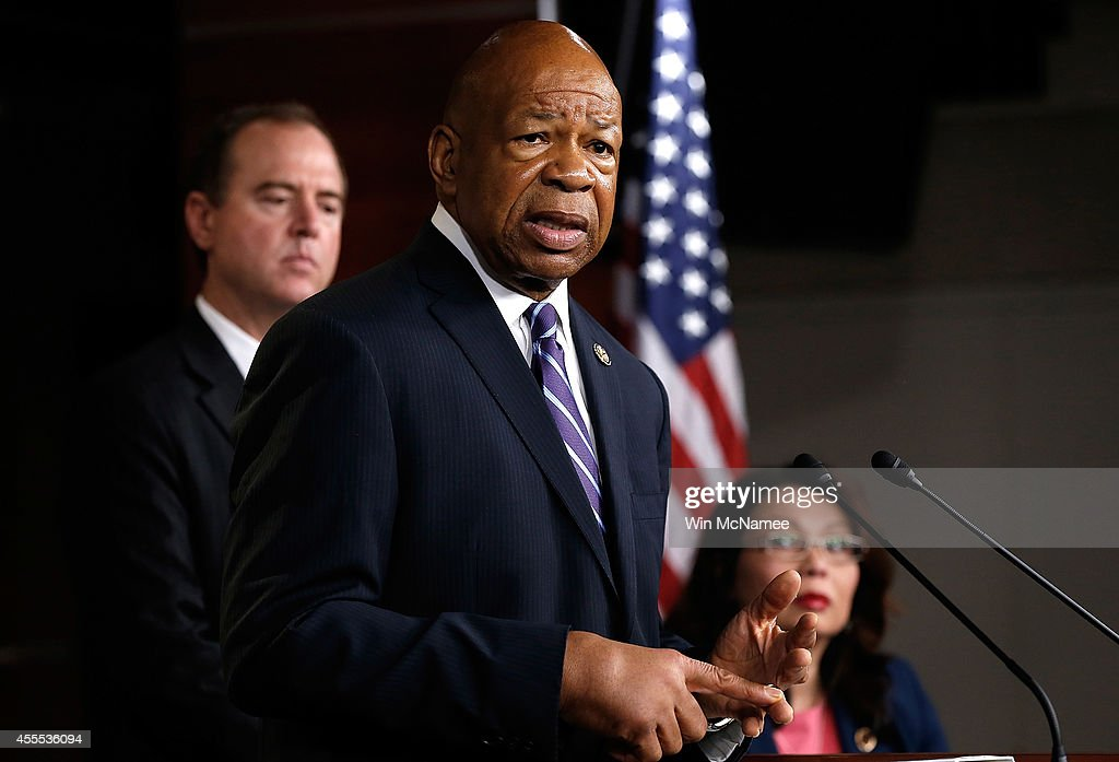 Democrats From The House Select Committee On Benghazi Hold News Conference : News Photo