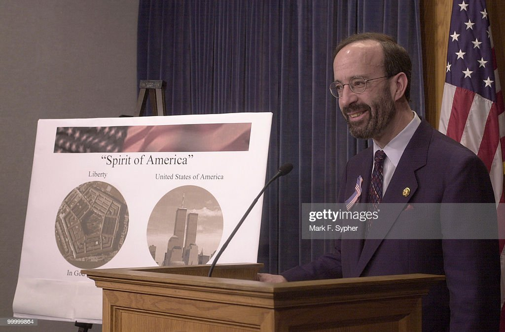 Rep. Eliot L. Engel (D-N.Y.), along with Rep. J.C. Watts Jr. (R-Okla.), make bypartisan moves to quickly produce a coin that will be designed by the Treasury Dept. commerating the tragedy of September 11, 2001.