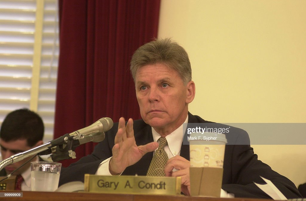 Rep. Gary A. Condit (D-CA) questions the readiness of America's defenses against biological and chemical attacks at the Subcommittee on Terrorism and Homeland Security on Wednesday.