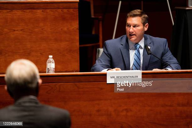 S Rep Guy Reschenthaler speaks at a hearing of the House Judiciary Committee on at the Capitol Building June 24 2020 in Washington DC Democrats are...