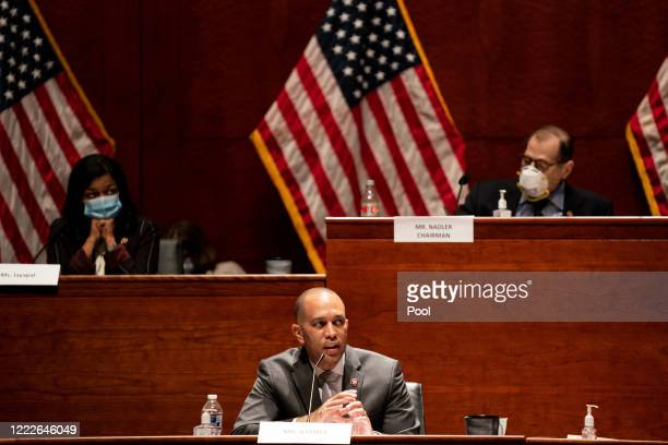 S Rep Hakeem Jeffries speaks at a hearing of the House Judiciary Committee on at the Capitol Building June 24 2020 in Washington DC Democrats are...