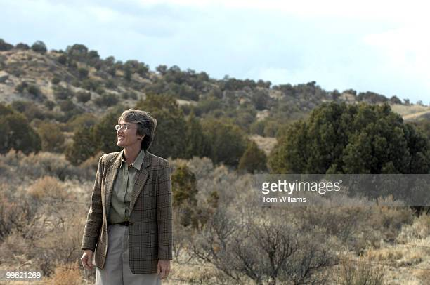 Rep Heather Wilson RNM visits land that will soon be an industrial park in Bloomfield NM